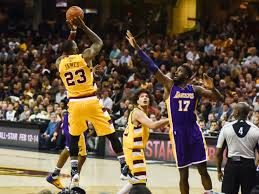 cavs vs lakers 2018