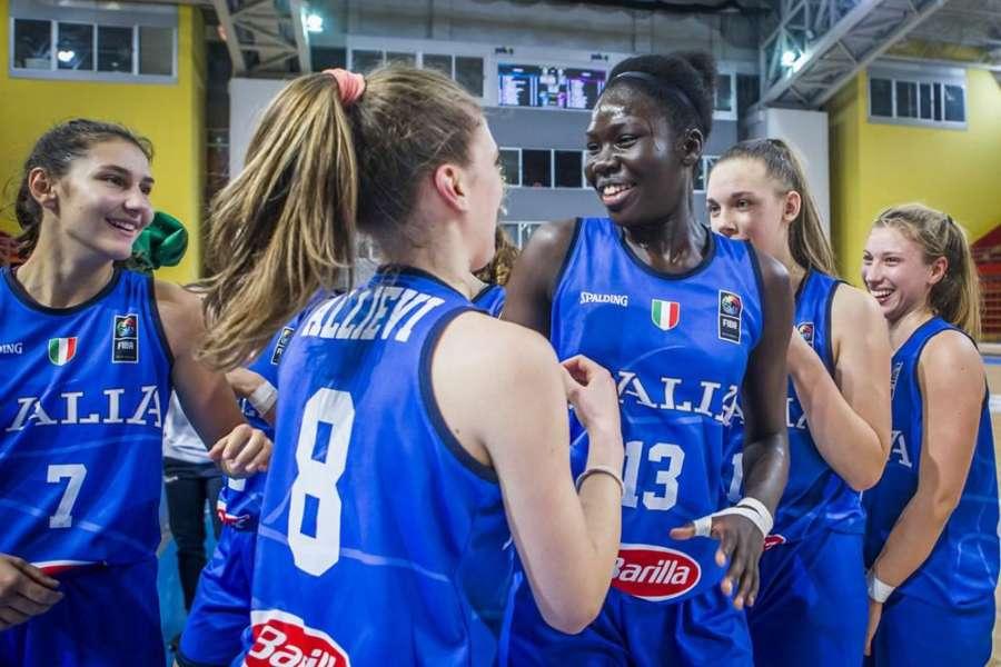 Europeo U16 femminile: l'Italia batte la Germania e vola ai