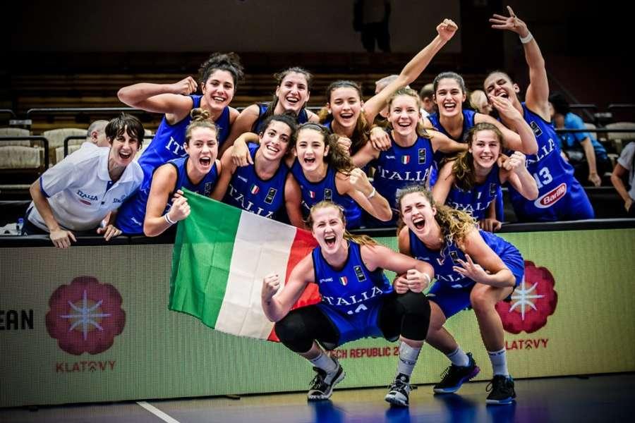 Europeo U20 femminile: le Azzurre superano la Spagna 71-62 e