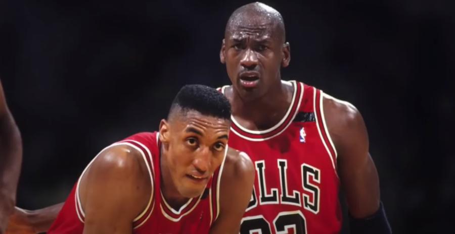 MJ e Scottie